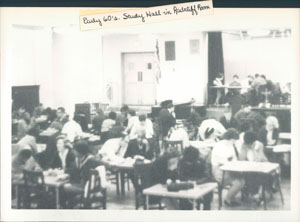 Study Hall in the 1960s